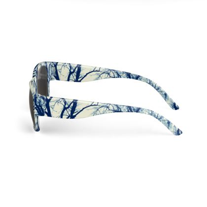 Blue Trees Sunglasses