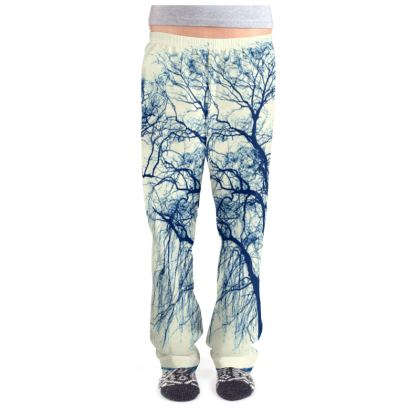 Blue Trees Ladies Pyjama Bottoms