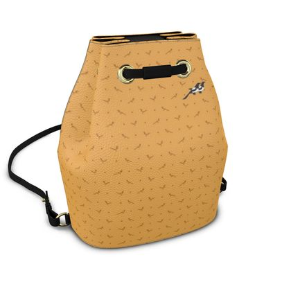 Bucket Backpack in Mag Dots