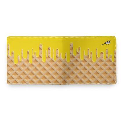 Wallet in Waffle Butter