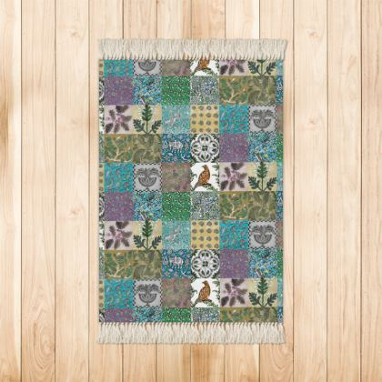 'Miscellany'' Rug in multi-colours