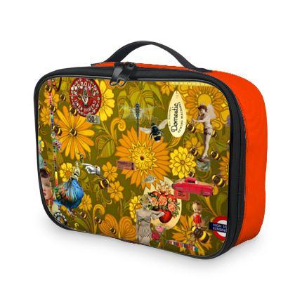 Orange Mayhem Lunch Bag