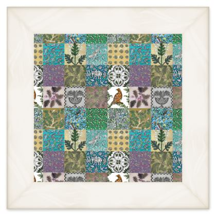 'Miscellany' Double Quilt multi-colours