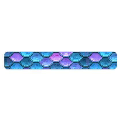 Mermaid skin - Bracelet - Fantasy, iridescent bright pink blue scales of dragon, fish tail, mermaid lover gift, sea creature, ocean - Tiana Lofd design