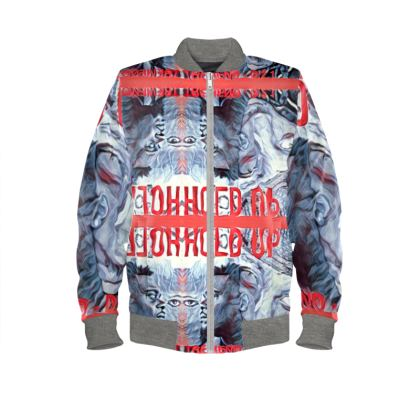 Trevieno Music Hold Up Bomber Jacket
