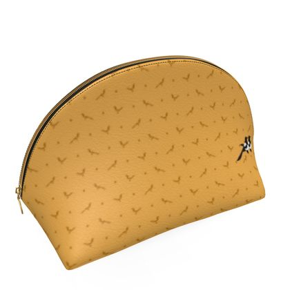 Clam Shell Travel Bag in Polka Mag