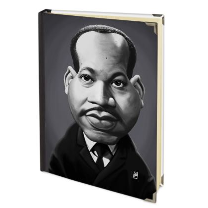Martin Luther King Celebrity Caricature Journals