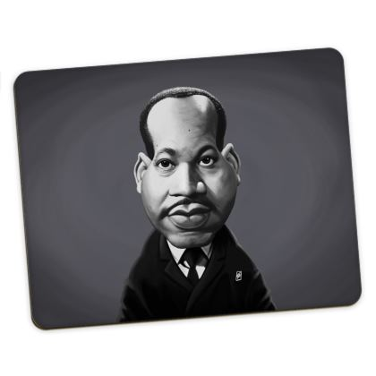 Martin Luther King Celebrity Caricature Placemats