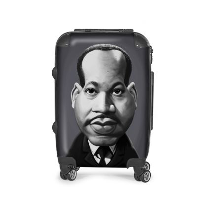 Martin Luther King Celebrity Caricature Suitcase