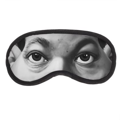 Martin Luther King Celebrity Caricature Eye Mask