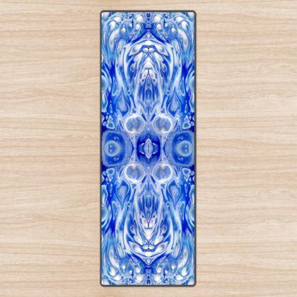 Aquatic Blue Yoga Mat