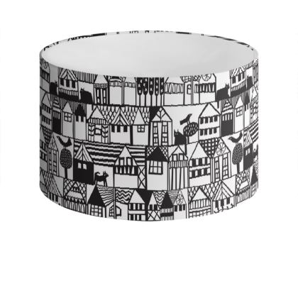 Hillside Drum Lamp Shade
