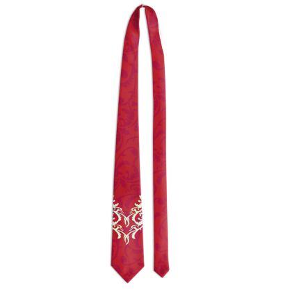 Rococo Red Tie