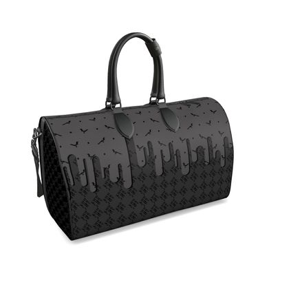 Duffle Bag in Pablo Check ft Polka Dotted Joy