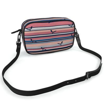 Camera Bag in PS I Love You (Salmon Seaside)
