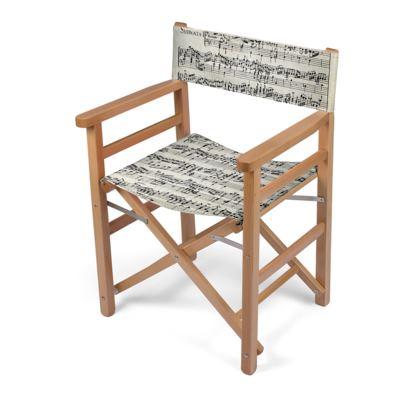 Sheet Music Directors Chair