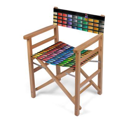 Colour Chart Directors Chair