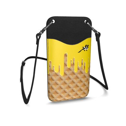 Micro Bag in Waffle Butter