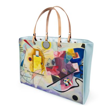 Handbags: Yellow-Red-Blue By Wassily Kandinsky