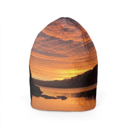Sunrise at Helford Passage Beanie