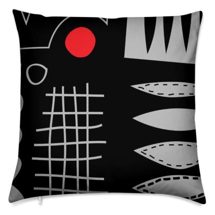 Haul Cushion by Caroline Rees