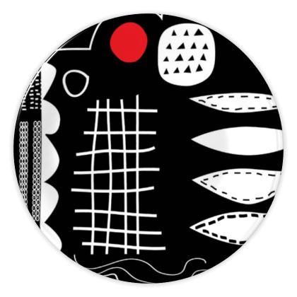 Haul China Plates by Caroline Rees