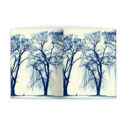 Blue Trees Passport Cover