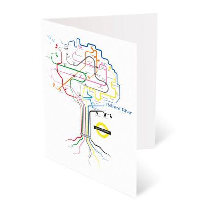 Mawnan Roots Greetings Card