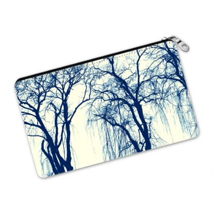 Blue Trees Pencil Case