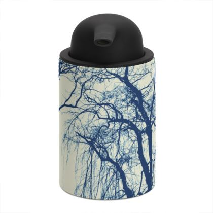Blue Trees Soap Dispenser