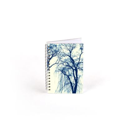 Blue Trees Spiral Note Book
