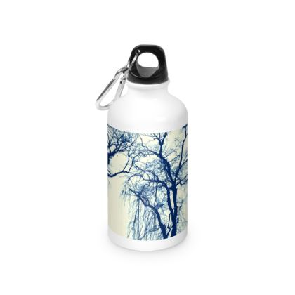 Blue Trees Water Bottle