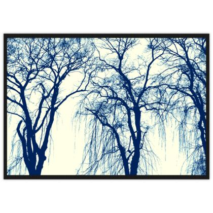 Blue Trees Mat