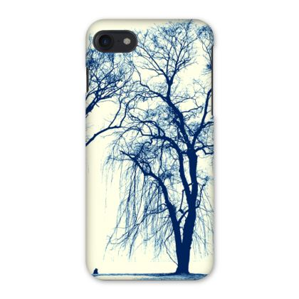 Blue Trees iPhone 7 Case