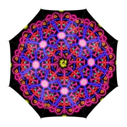 Neon Lights Umbrellas