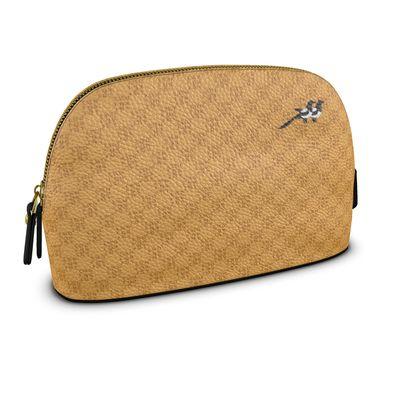 Beauty Bag in Pablo Check