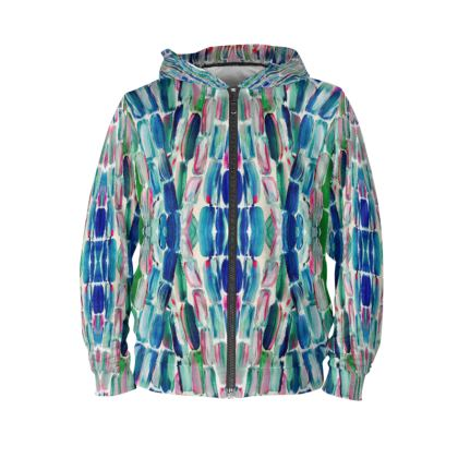 Sweet Sugarcane Blue nd Pink Hoodie