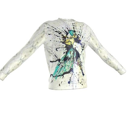 BB ART WEAR Winged DOg Sweatshirt