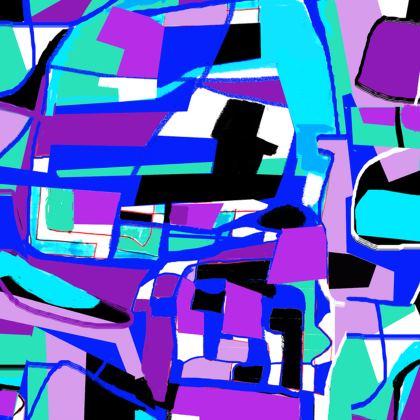 Violet Directors Chair