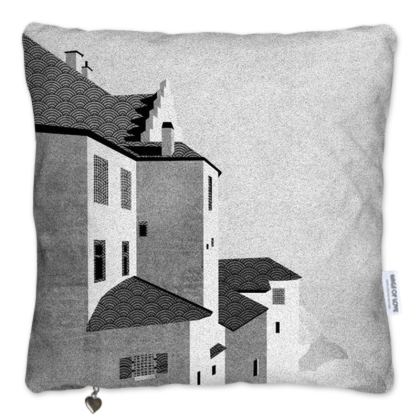 Vintage Castle - Pillows Set