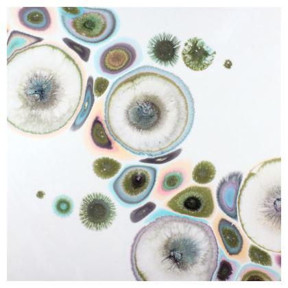 Abstract Zen Art Serving Platter