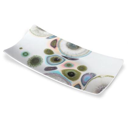 Abstract Zen Art Serving Dish