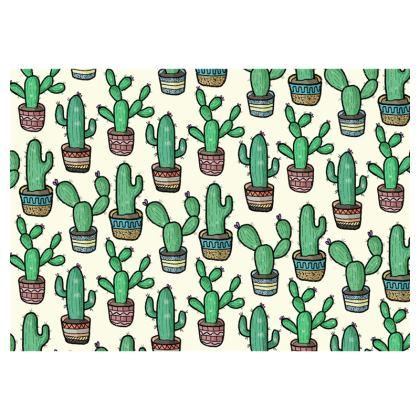 Cacti Clutch Bag