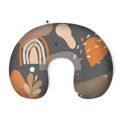 Neck Pillow Abstract 01