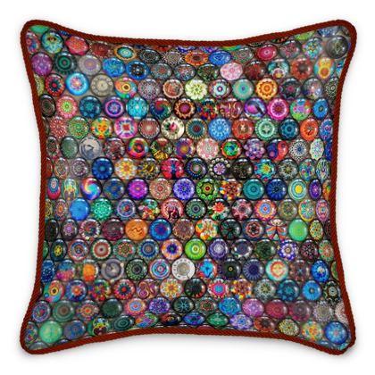 My Little Paperweights Silk Cushion