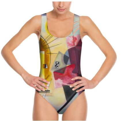 Swimsuit: Yellow-Red-Blue By Wassily Kandinsky
