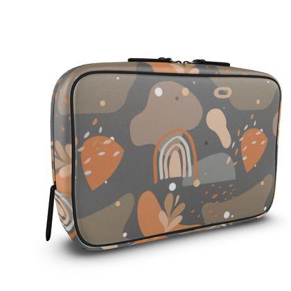 Mens Large Wash Bag Abstract 01