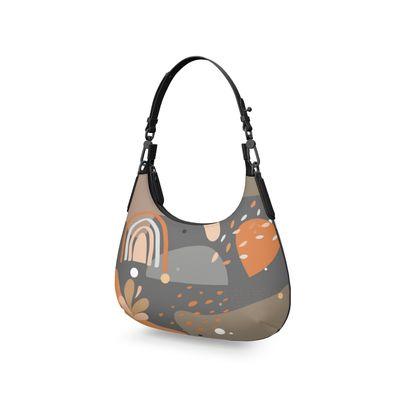 Mini Curve Bag Abstract 01