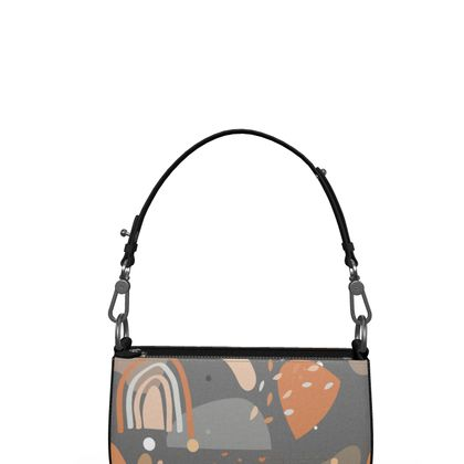 Zip Box Bag Abstract 01