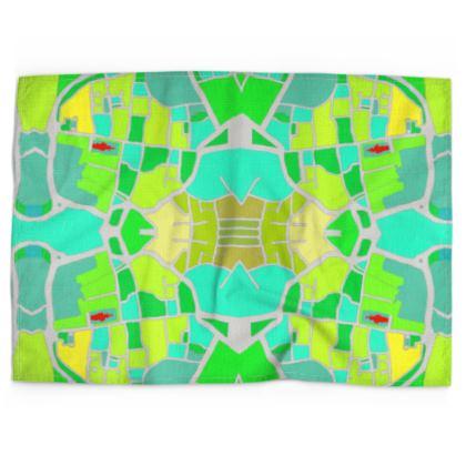 Chichester Green Tea Towel